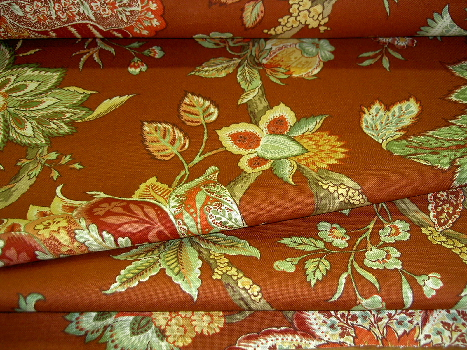 braemore fabrics pattern monrovia oxf color burnt sienna home decor multi use fabric - Discount Designer Home Decor
