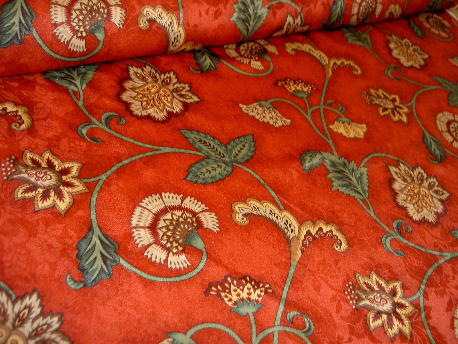 Additional Pictures Of Closeout Polyester Color Red Home