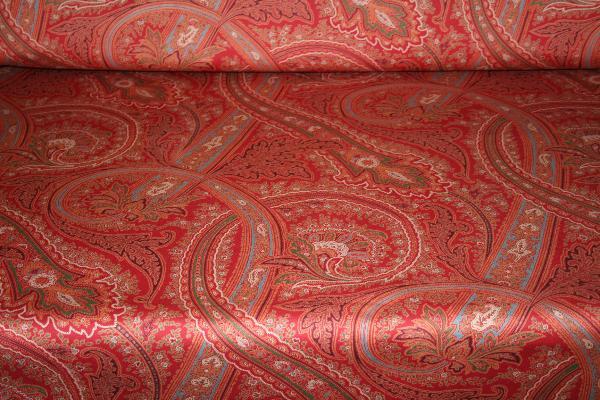 Ralph Lauren Design Fayette Paisley Currant Home Decor Fabric