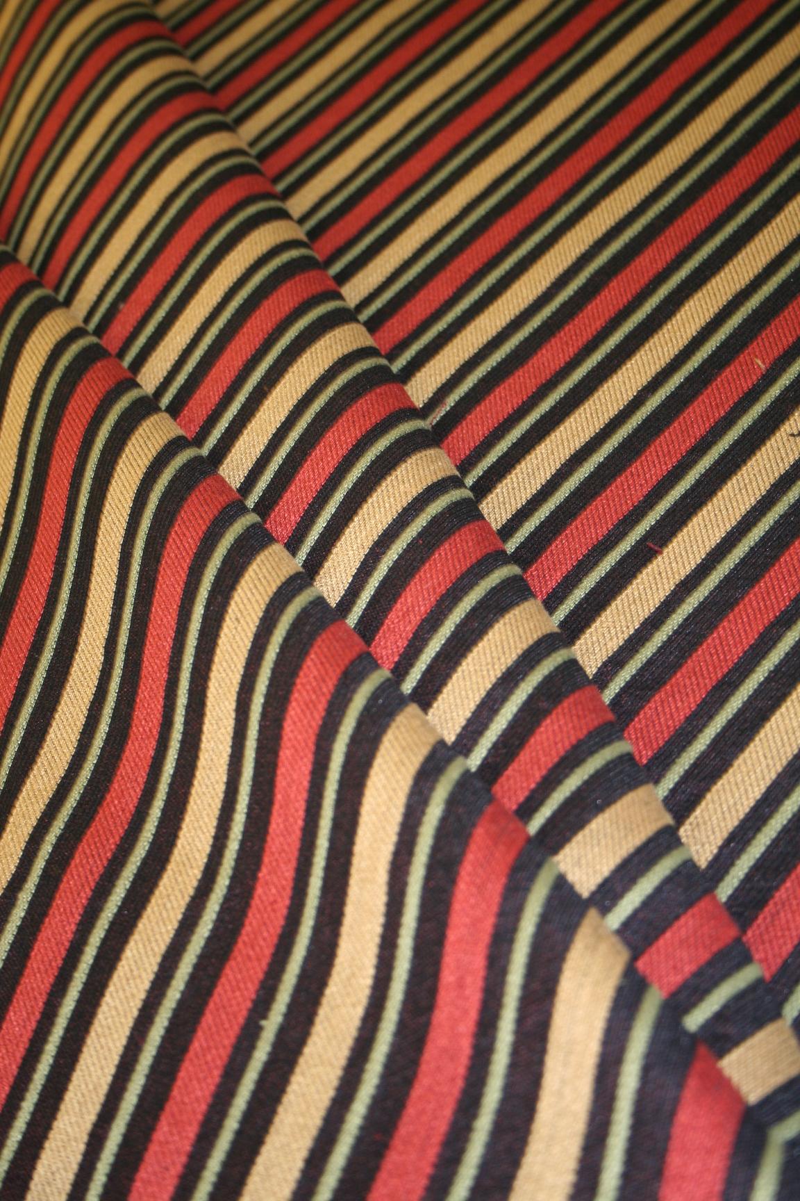 Marcovaldo Kathmandu Night Railroaded Stripes Upholstery