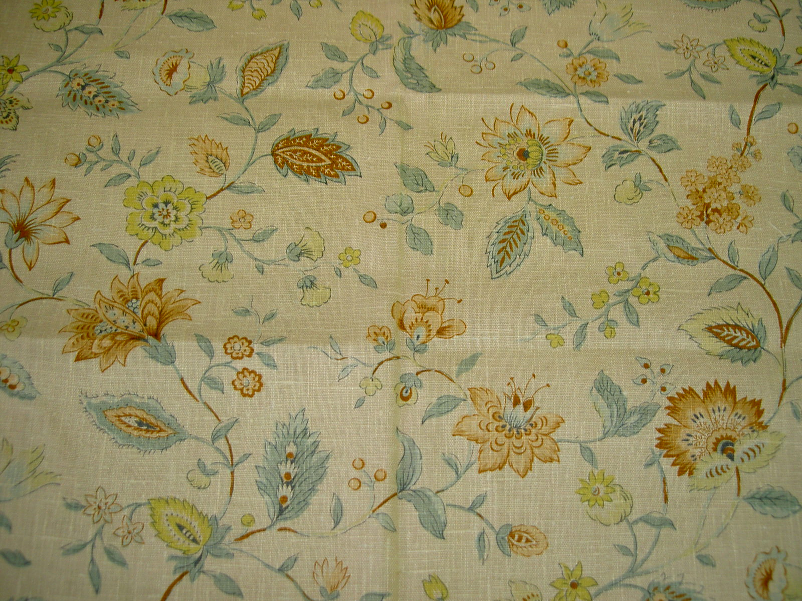 Additional Pictures of Natural Linen Pattern Peruga Color Ways ...
