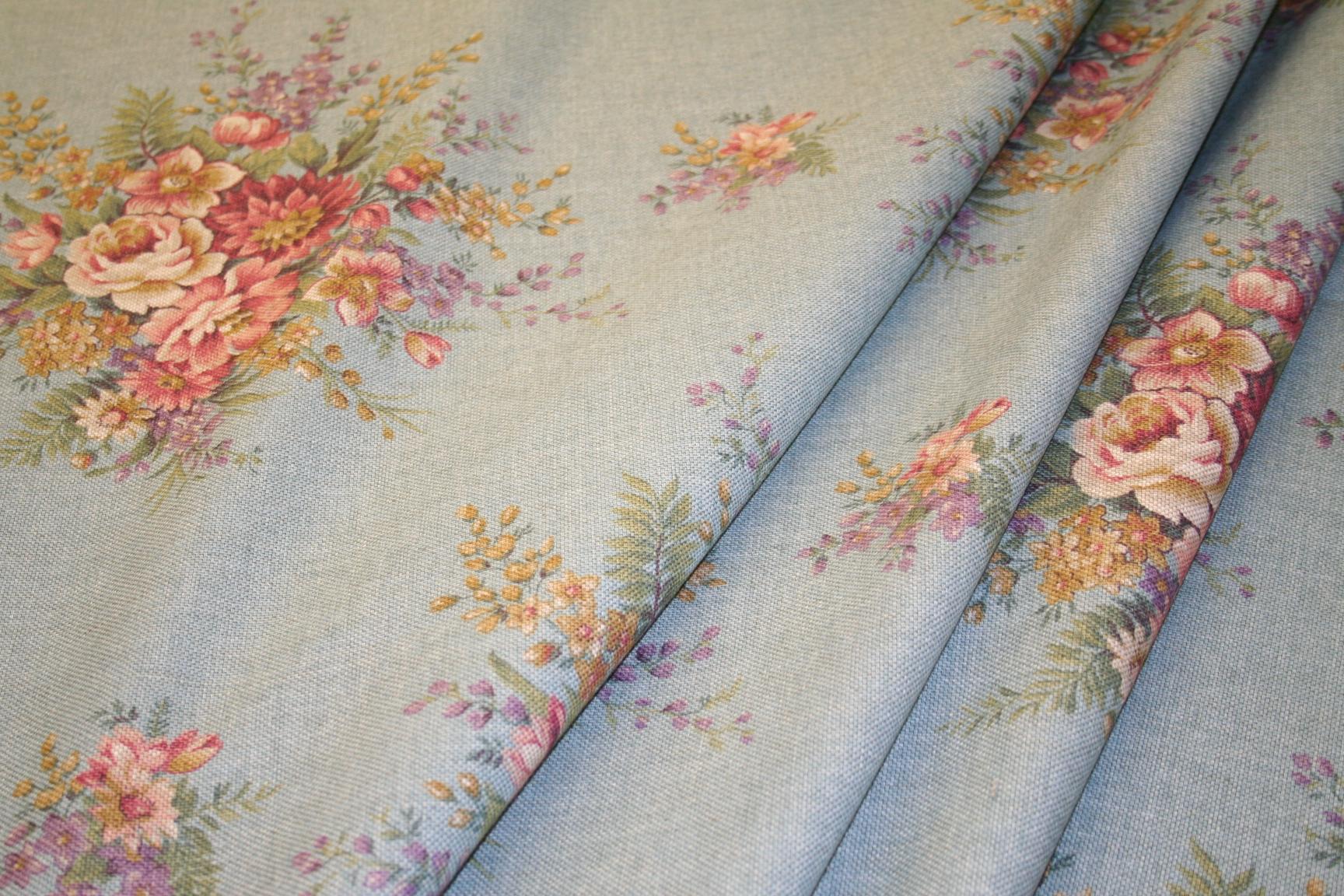 Ralph Lauren Design Closeout Cheval Floral Rustique Teal