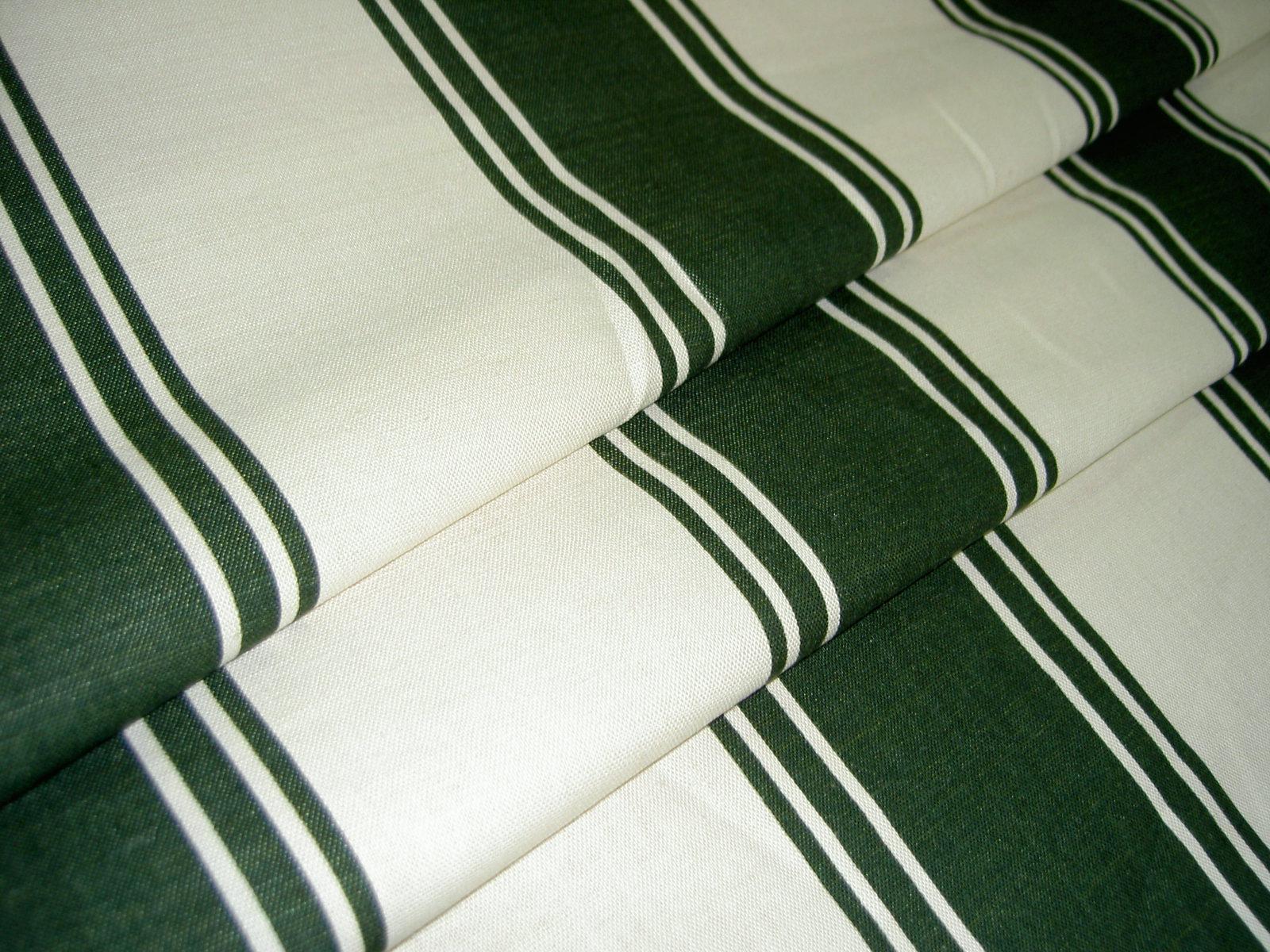Closeout Home Decor Ralph Lauren Velasquez Green Stripe Fabric