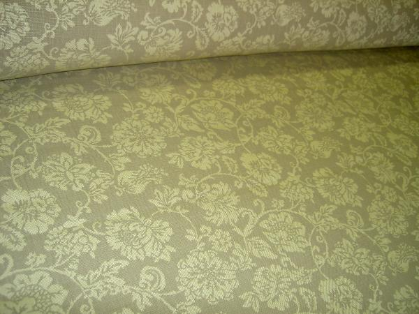 Chris Stone Design for Restoration Hardware Color Taupe Linen Home Decor Fabric - click to order