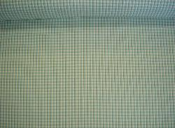 Design Cheap Clearance Sale P Kaufmann Cambridge Check Color Turquoise Fabric for Home Decor