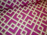 Click for P Kaufmann Pergola Rasberry Fabric linen multipurpose decorating fabric page