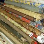 Drapery Work Room Upscale Fabric Remnants - click to see page