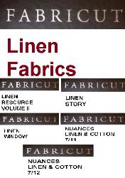 Fabricut Linen Fabric Special Order Section, for home decor and interior decorating