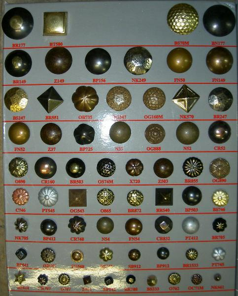 Furniture Nails and Buttons, Traditional Upholstery Collection - click for store page