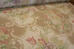 Angle View of this Discounted Linen Home Decor fabric at Schindler's Upholstery Shop