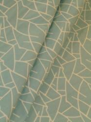 Magitex Decor Branches Baby Blue Home Decor Fabric contemporary modern reversible pattern