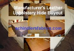 Manufacturer Leather Upholstery Hide Buyout