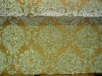 Luxurious Pattern Faberge' Color Mist Damask Chenille Upholstery Fabric - click for more images