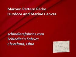 Maroon Pattern Padre Outdoor and Marine Canvas 60