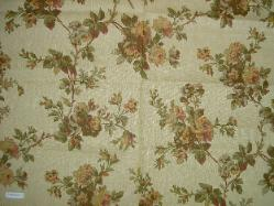 Linen Interior Decorating Fabric Cutalan Rose