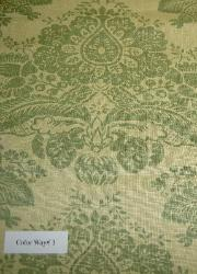 Colorway 1 Discount Designer Linen Home Decor Fabric Pattern Paris