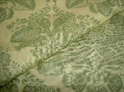 Linen Print Fabric for Interior Home Dec