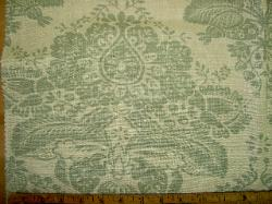 Closeup of Pattern Paris 100% Linen Interior Decorator's Fabric