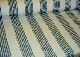 Angle view of Our Fabric Warehouse Clearance Sale P Kaufmann Pattern Cape Town Stripe Color Dutch