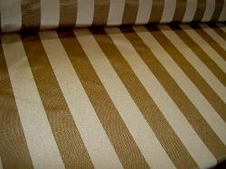 Angle view Fabric Warehouse Outlet Clearance Sale P Kaufmann Syracuse Textured Stripe Mushroom