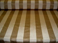 Table view Fabric Warehouse Outlet Clearance Sale P Kaufmann Syracuse Textured Stripe Mushroom