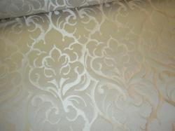 Wentworth Decorator Fabric Color Pearl from Hamilton, a tone on tone raised embossed damask pattern