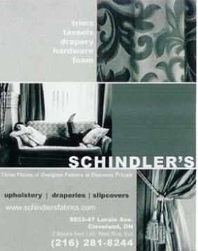 Our Store at Schindler's Fabrics, Upholstery and Drapery Fabrics at the Right Price
