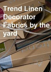 Trend Linen and Faux Linen Decorator Fabrics by the yard, beautiful fabric at exceptional value, home decor and interior decorating fabrics